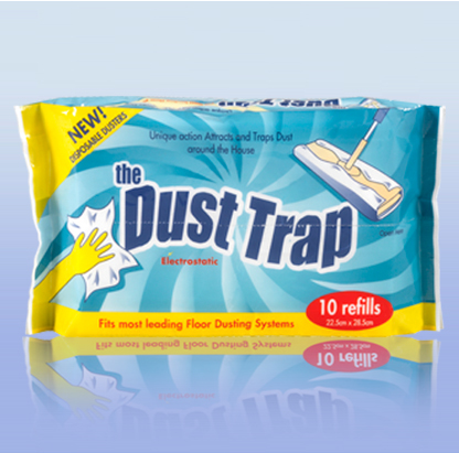 Clear Up BDust Trap Electro Static Cleaning Cloths 10's